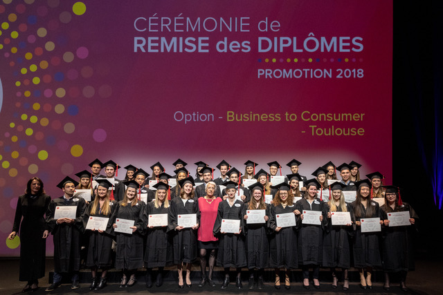 CEREMONIE REMISE DE DIPLOMES EVENEMENT TOULOUSE Beatrice Tafanel COMMUNICATION